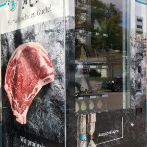 Fleisch.- und Wurstautomat für den 24h Service